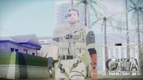MGSV Phantom Pain Snake Scarf Desert para GTA San Andreas