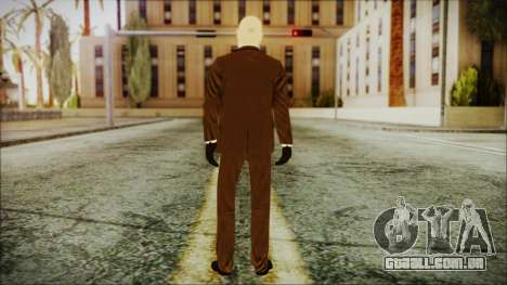 Hitman Absolution Agent 47 para GTA San Andreas terceira tela