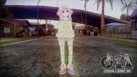 Neptune Re Birth [Hyperdimension Neptunia] para GTA San Andreas segunda tela