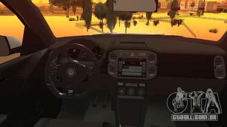 Volkswagen Tiguan Vossen Edition para GTA San Andreas vista direita