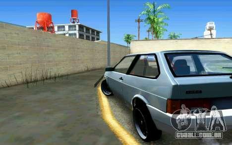 VAZ 2108 V1 para GTA San Andreas traseira esquerda vista