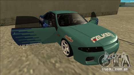 Nissan Skyline R33 Drift Falken para GTA San Andreas vista inferior