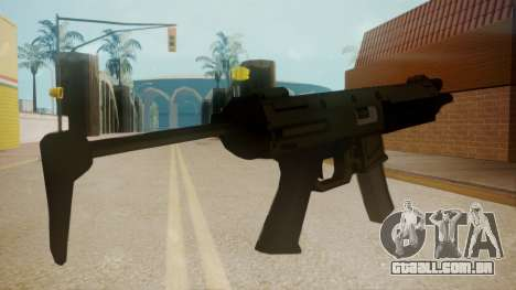 GTA 5 MP5 para GTA San Andreas segunda tela