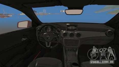 Mercedes-Benz CLA 250 para GTA San Andreas vista direita