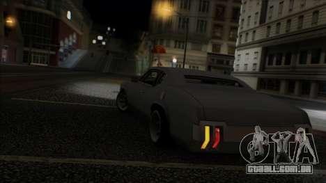 Sabre Race Edition para GTA San Andreas vista inferior