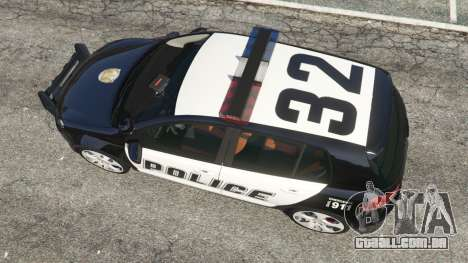 GTA 5 Volkswagen Golf Mk6 Police voltar vista