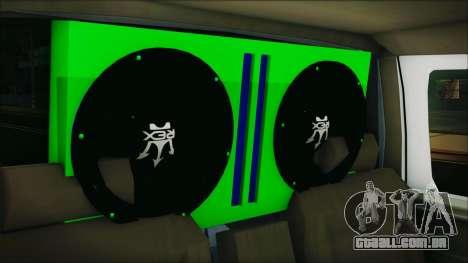 Ford F-150 Con Sonido para GTA San Andreas vista traseira