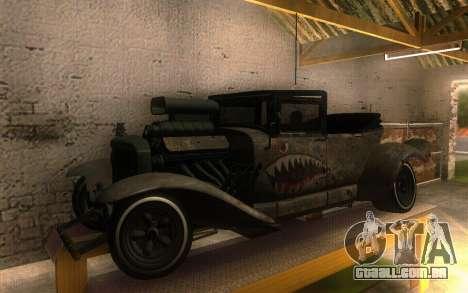 Albany Frenken Stange Rusty Edition para GTA San Andreas esquerda vista