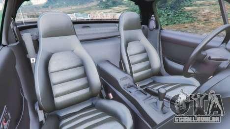 GTA 5 Mazda Miata MX-5 vista lateral direita