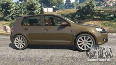 Volkswagen Golf Mk6 para GTA 5