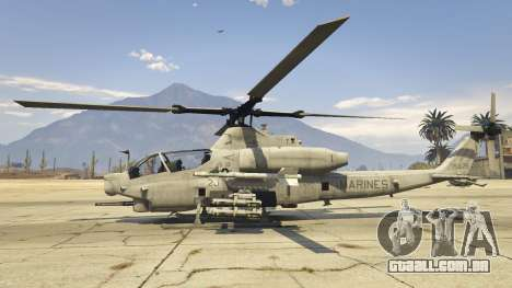GTA 5 AH-1Z Viper segundo screenshot