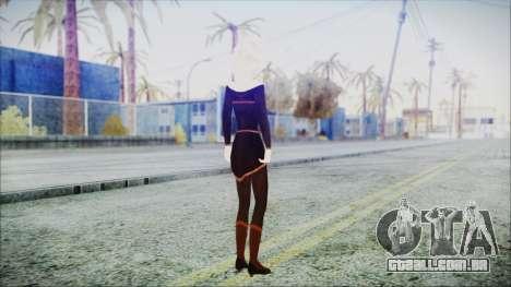 Elsa Black Outfit para GTA San Andreas terceira tela