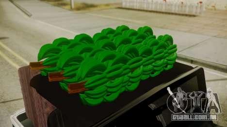 Jeep Willys Cafetero para GTA San Andreas vista direita