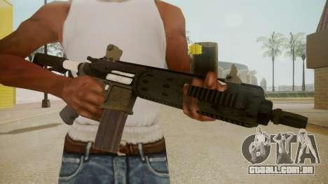GTA 5 M4 para GTA San Andreas terceira tela