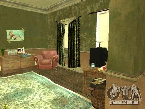 Apartamento de GTA IV para GTA San Andreas sexta tela