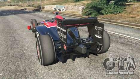 Virgem VR-01 [Timo Glock] v1.1 para GTA 5