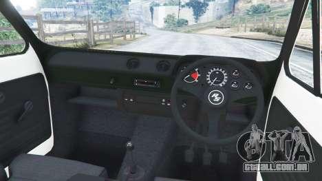 GTA 5 Ford Escort MK1 v1.1 [Carrillo] vista lateral direita