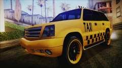 Albany Cavalcade Taxi (Hotwheel Cast Style) para GTA San Andreas