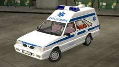 Daewoo-FSO Polonez Carga de Ambulância de 1999