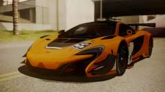 McLaren 650S GT3 2015 para GTA San Andreas