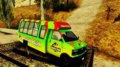 Jurassic Park Tour Bus para GTA San Andreas