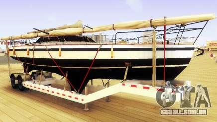 GTA V Grande Reboque do Barco para GTA San Andreas