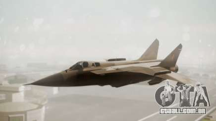 Mikoyan MiG-31 Yuktobanian Air Force para GTA San Andreas