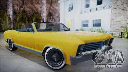 GTA 5 Albany Buccaneer Custom para GTA San Andreas