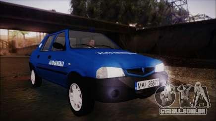 Dacia Solenza Jandarmeria para GTA San Andreas