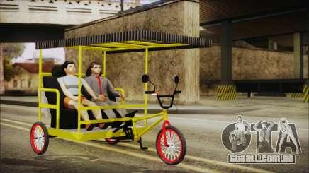 Bicitaxi Colombiano para GTA San Andreas