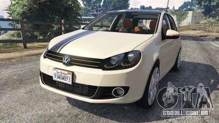 Volkswagen Golf Mk6 v2.0 [Stripes] para GTA 5