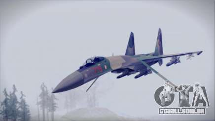 Sukhoi SU-35S East German Air Force para GTA San Andreas