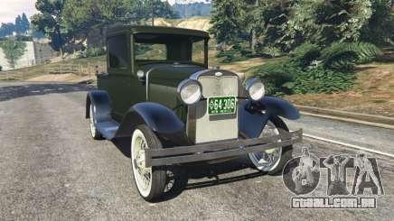 Ford Model A Pick-up 1930 para GTA 5