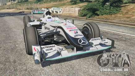 A Mercedes-Benz MGP W01 [Michael Schumacher] v1.1 para GTA 5