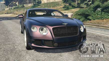 Bentley Continental GT 2012 v1.1 para GTA 5