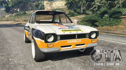 Ford Escort MK1 v1.1 [Carrillo] para GTA 5