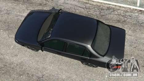 GTA 5 Toyota Corolla 1.6 XEI [black edition] v1.02 voltar vista
