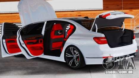 BMW 7-er 2016 v2.0 para GTA 4 vista direita