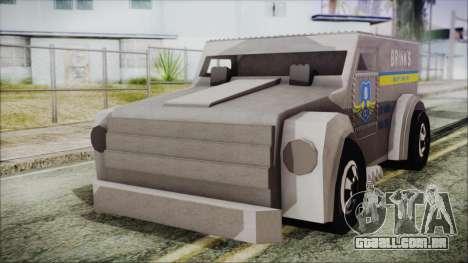 Hot Wheels Funny Money Truck para GTA San Andreas
