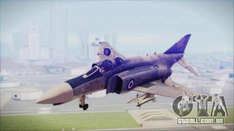 McDonnell Douglas F-4N Hellenic Air Force para GTA San Andreas