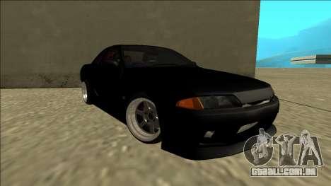 Nissan Skyline R32 Drift para GTA San Andreas vista direita