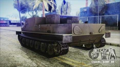 BTR-50 para GTA San Andreas esquerda vista