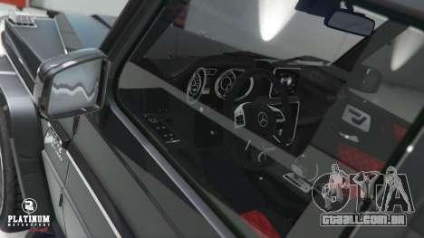 GTA 5 Mercedes-Benz G63 AMG v1 volante