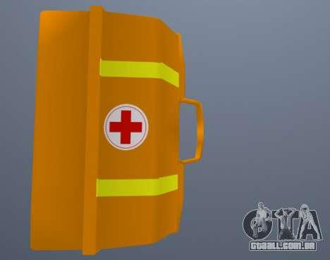 Kit De Primeiros Socorros para GTA San Andreas terceira tela