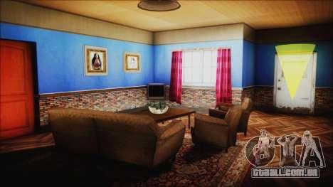 CJ House New Interior para GTA San Andreas quinto tela