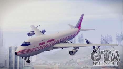 Boeing 747-237Bs Air India Rajendra Chola para GTA San Andreas