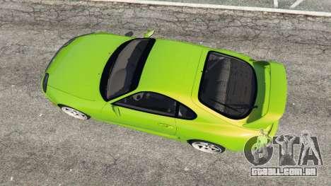 GTA 5 Toyota Supra JZA80 voltar vista
