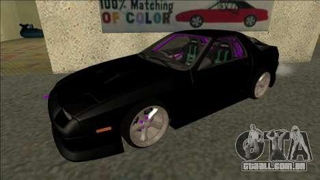 Mazda RX-7 FC Drift para GTA San Andreas