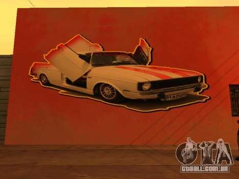 Peykan Wall Graffiti para GTA San Andreas