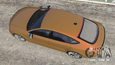 Audi RS7 2016 para GTA 5